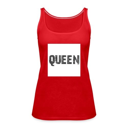 queen shirt - Vrouwen Premium tank top