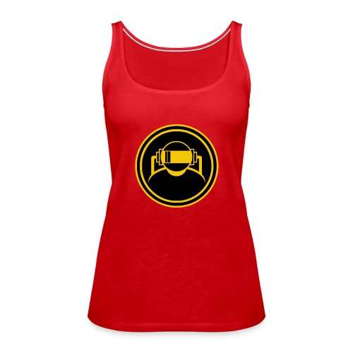 Mens Slim Fit T Shirt. - Women's Premium Tank Top