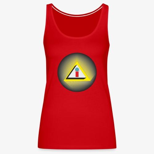 i - Camiseta de tirantes premium mujer