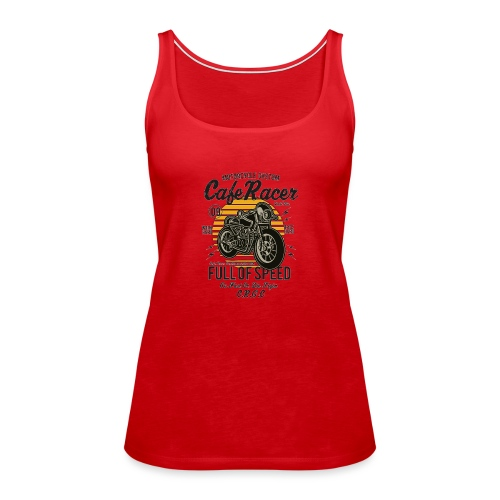 Full of speed - Women's Premium Tank Top