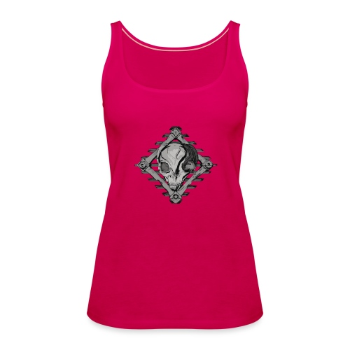 Visitor from alien planet - Women's Premium Tank Top