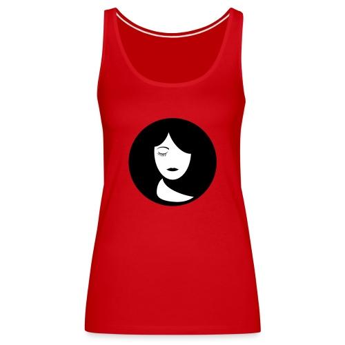 face - Vrouwen Premium tank top