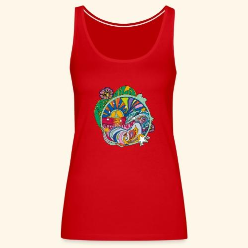 freenwild - Camiseta de tirantes premium mujer