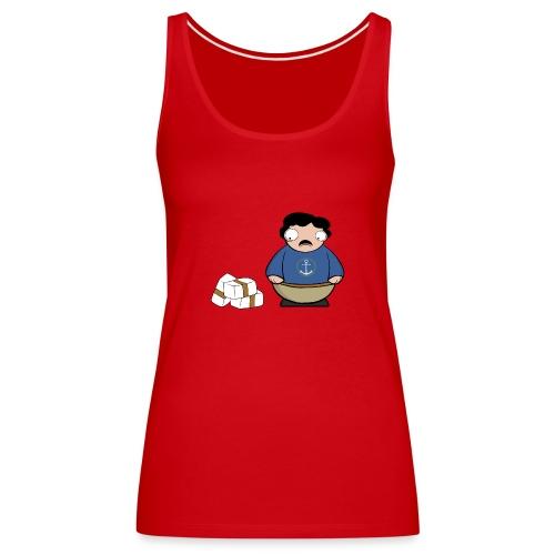 Pablito. - Camiseta de tirantes premium mujer
