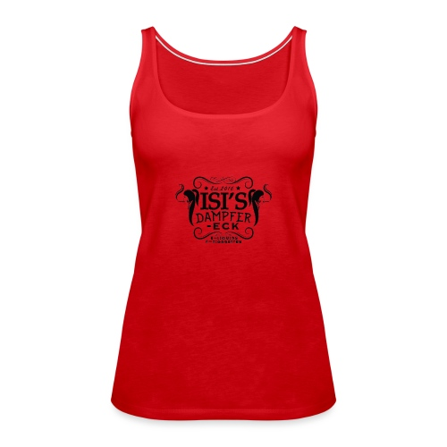 Isi's Dampfer-Eck Logo - Frauen Premium Tank Top
