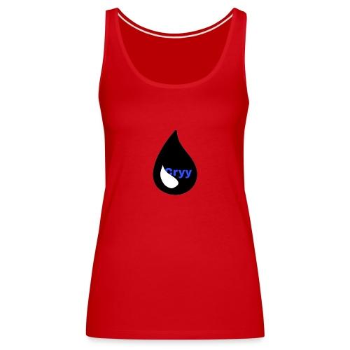 Cryy Logo - Frauen Premium Tank Top