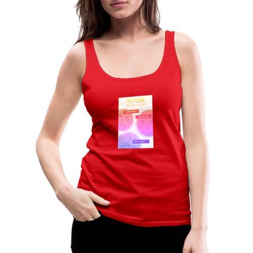 Design sans titre Devant 4 - Débardeur Premium Femme