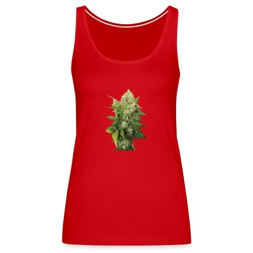 Cannabis Bud real - Frauen Premium Tank Top