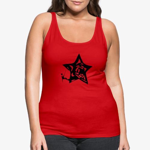 Rapel desde estrella - Star Rappel - Climb - Women's Premium Tank Top