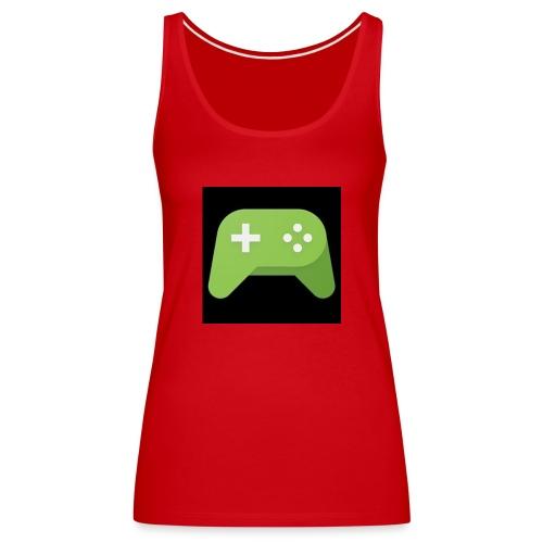 Games Spiel Logo - Frauen Premium Tank Top