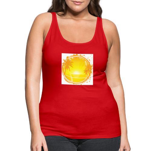 Sunburn - Women's Premium Tank Top