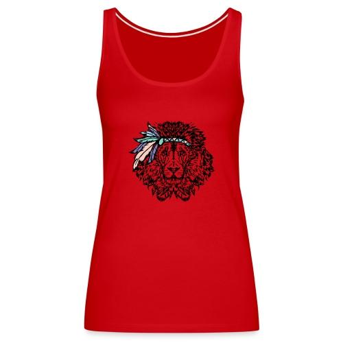 leone indiano - Canotta premium da donna