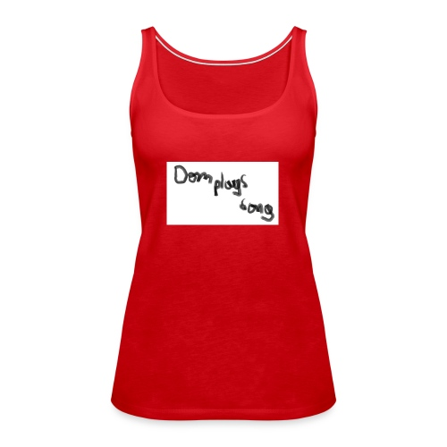 dom plays song - Women's Premium Tank Top