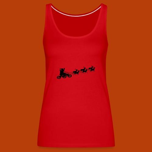 Ho Hoo Weihnachts Rentier Skate - Frauen Premium Tank Top