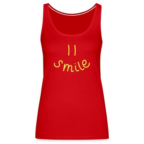 Smile-y - Frauen Premium Tank Top