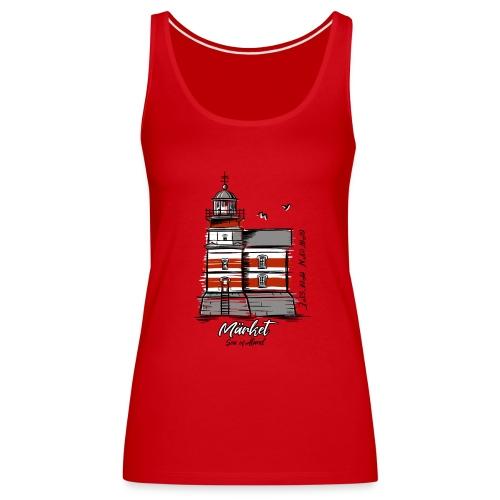 MÄRKET FYR MAJAKKA Tekstiles, gifts, products - Naisten premium hihaton toppi