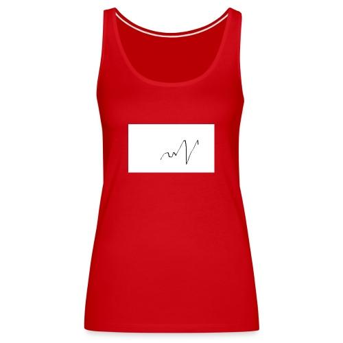 ritmo del cuore - Canotta premium da donna