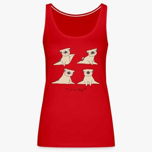 love for yoga - Camiseta de tirantes premium mujer