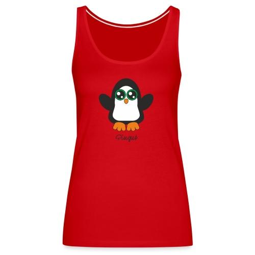 Pinguś - Tank top damski Premium
