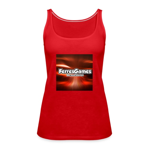 FerresGames PET - Vrouwen Premium tank top