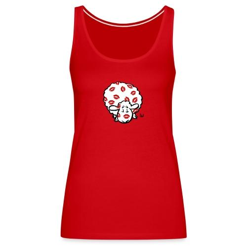 Beso oveja - Camiseta de tirantes premium mujer