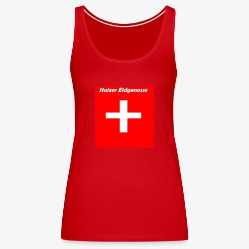 Schweizer Fanshirt - Frauen Premium Tank Top