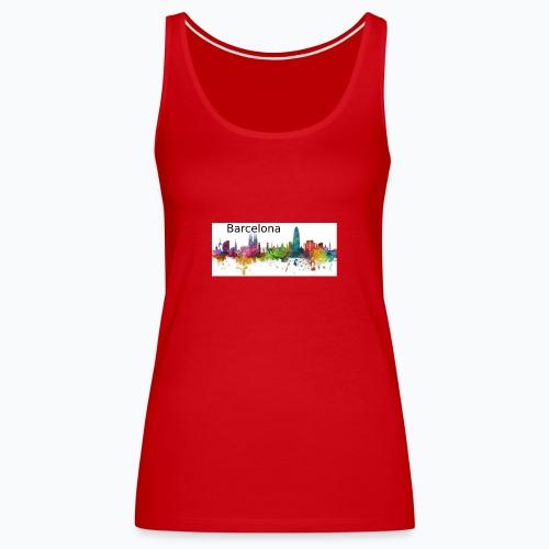 12 - Camiseta de tirantes premium mujer