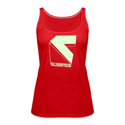 SUBBASS DUBSTEP LABEL LOGO - Frauen Premium Tank Top