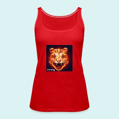 Tiger - Frauen Premium Tank Top