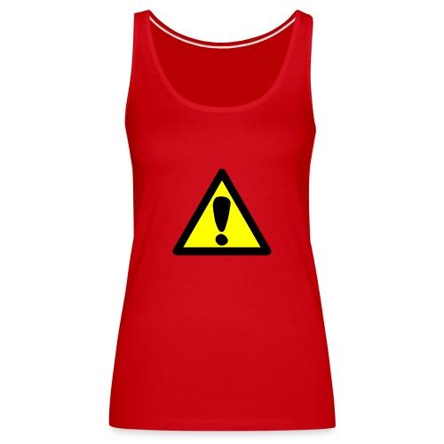 exclamacion - Camiseta de tirantes premium mujer