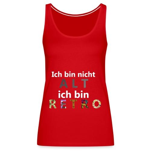 retro - Frauen Premium Tank Top