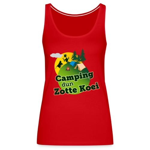 2015 logo camping carnaval png - Vrouwen Premium tank top