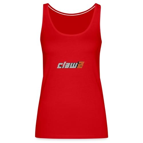 ClawZ Logo - Premiumtanktopp dam