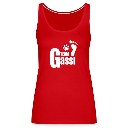 Team Gassi - Frauen Premium Tank Top