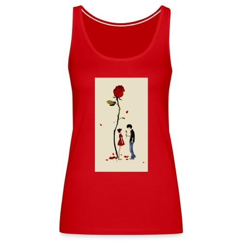 Roses are red - Camiseta de tirantes premium mujer