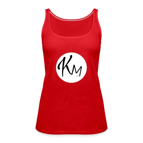 KM Logo - Frauen Premium Tank Top