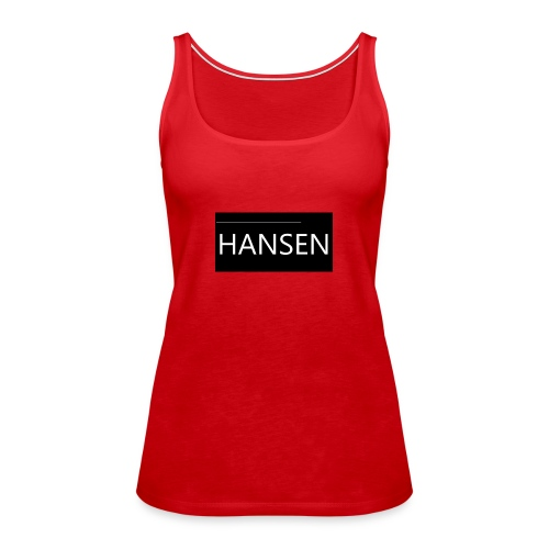 HANSENLOGO - Dame Premium tanktop