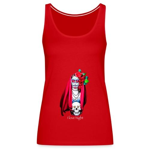 Catrina I love night - Camiseta de tirantes premium mujer