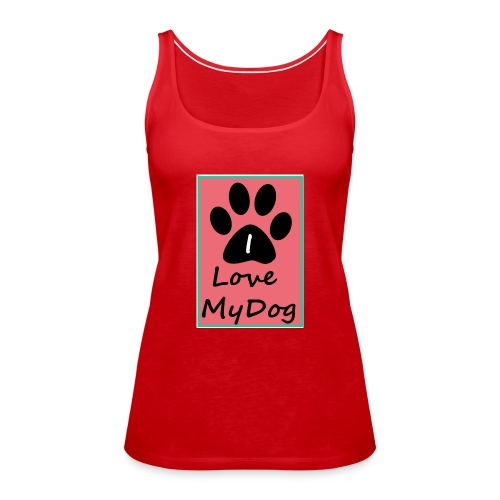 love dog 2 - Camiseta de tirantes premium mujer