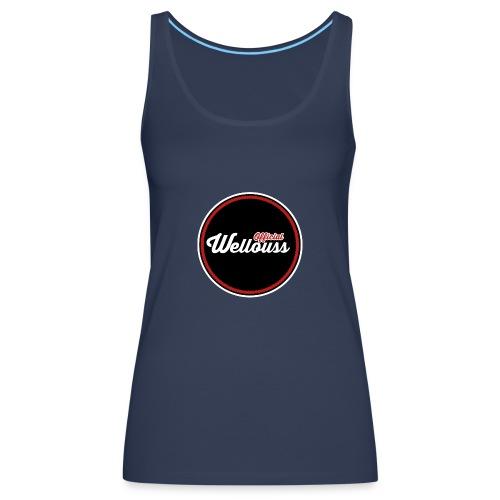 Wellouss Fan T-shirt | Rood - Vrouwen Premium tank top