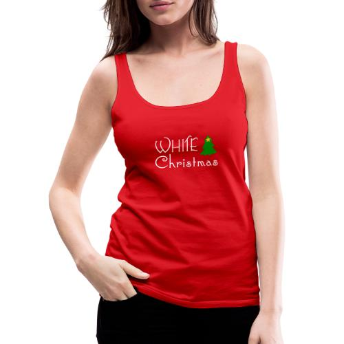 White Christmas - Women's Premium Tank Top