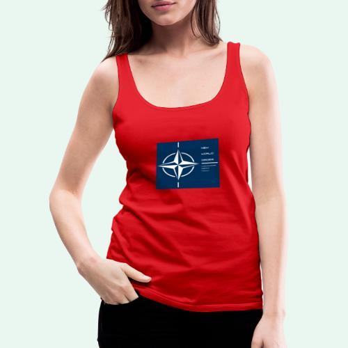 vagnacht nat - Vrouwen Premium tank top