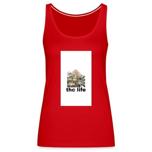 THCE LIFE - Camiseta de tirantes premium mujer