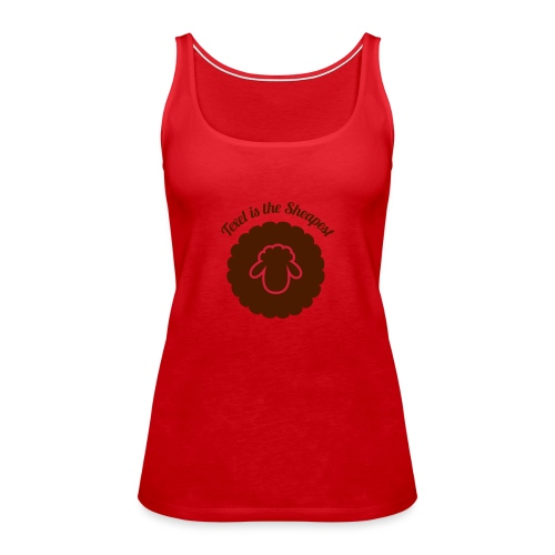 Texel is the Sheapest - Vrouwen Premium tank top