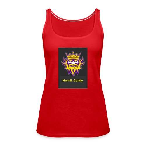 nytt Candy murch - Premium singlet for kvinner