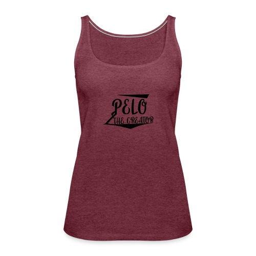PeloTheCreator - Women's Premium Tank Top