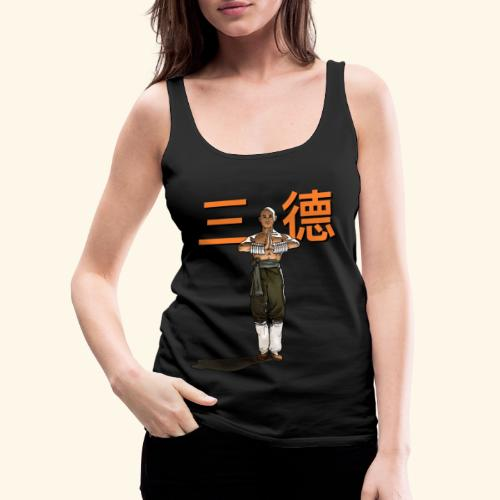 Gordon Liu - San Te - Monk ( Official) 9 dots - Vrouwen Premium tank top