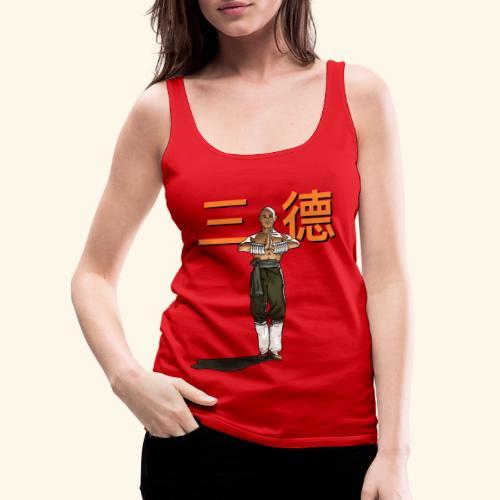 Gordon Liu - San Te - Monk (officiel) 9 prikker - Dame Premium tanktop