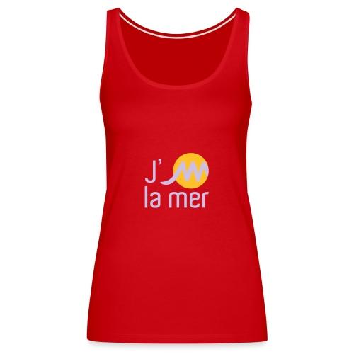 jMmerblancjaune - Débardeur Premium Femme