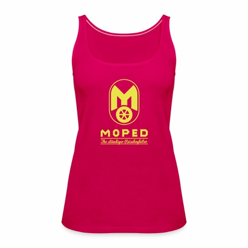 Moped - your constant travel companion - Women's Premium Tank Top